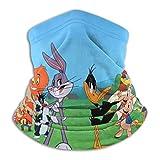 TUCBOA Headband,Looney Tunes Magic Headband, Protectores Faciales A Prueba De Arena para Correr Y Caminar,26x30cm