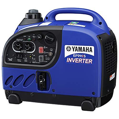 ヤマハ 防音型 インバータ発電機 EF9HiS 0.9kVA [50Hz/60Hz] 直流12V-8A付 充電コード標準装備