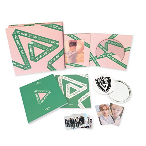 SEVENTEEN 5th Mini Album - YOU MAKE MY DAY [ FOLLOW Ver. ] CD + Photobook + Lenticular card + Photocard + Folded Poster + FREE GIFT / K-POP Sealed