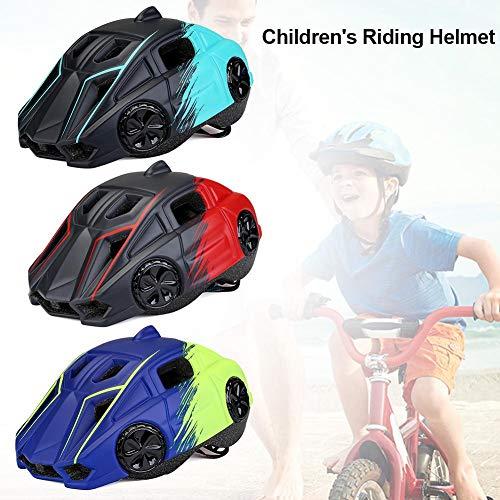 lembrd Kinderhelm met lichtgewicht, stootvast, zonbestendig, geïntegreerde hoofdbescherming voor het fietsen in de open lucht