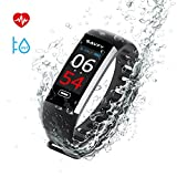 SAVFY Smartwatch Orologio Intelligente, IP67 Impermeabile Fitness Tracker,...