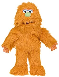 """14"""" Orange Monster Puppet"""