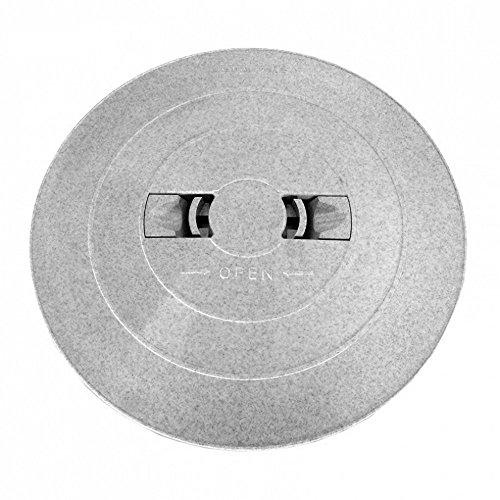 Astral 05280R0300CL13 24,13 cm Skimmer Couvercle de Pont - Gris pour Skimmer