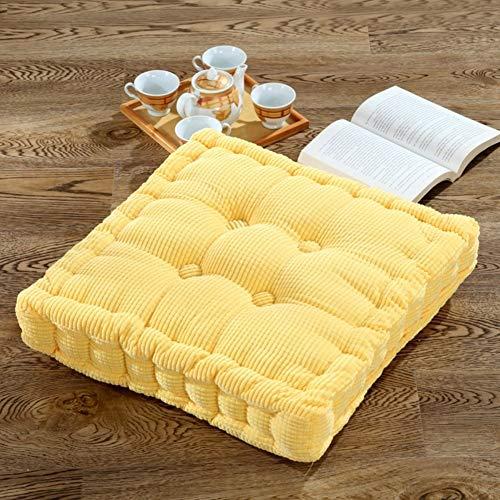 YLCJ stoelkussen van dik fluweel voor dikke bekleding, tatami matrassen voor bureaustoel, kussens voor studenten, verhoogde Cushion-C 40 x 40 cm (16 x 16 inch).