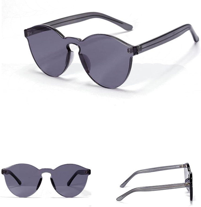 Z&YQ Sonnenbrille Männer Männer Männer und Frauen Mode transparente ovale Sonnenbrille B07769CN6R  Hervorragender Stil 82787e