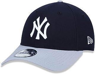 BONE 9FORTY ABA CURVA AJUSTAVEL MLB NEW YORK YANKEES ABA CURVA SNAPBACK MARINHO NEW ERA