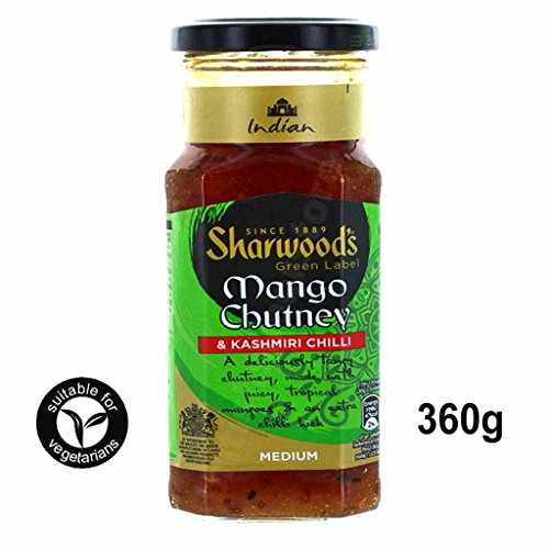 Sharwood's Green Label Mango Chutney Kashmiri Chilli 360g