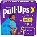 Pull-Ups Night-Time Boys' Training Pants, 3T-4T, 60 Ct by Kimberly-Clark Corp.