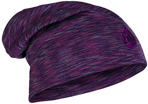 Buff Heavyweight Merino Wool Hat Loose Bonnet + UP Ultrapower Tissu Tubulaire   Laine mérino   Beanie   Respirante Heavyweight Merino Wool Hat Loose - 118187.923.10.00