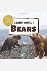 Learn About Bears - First Facts for Kids Paperback