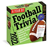 A Year of Football Trivia! Page-A-Day Calendar 2022: All Things Football All Year Long.