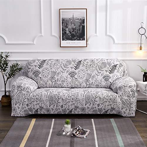 Fansu Elastischer Sofabezug, Stretch Couchbezug Sesselbezug Elastischer Antirutsch Stretchhusse...