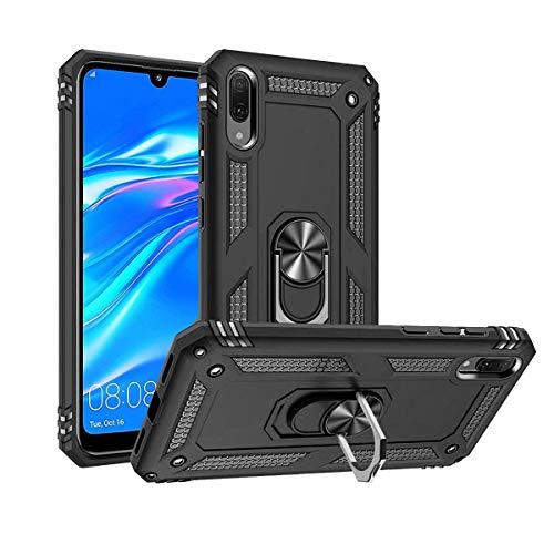 Funda Case Protector Hibrida Magnética Con Anillo Para. Huawei Y5 2019 Amn-lx3. Incluye Cristal Templado…
