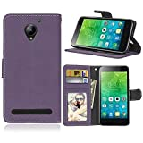 Phone Case for Lenovo Vibe C2 k10a40, Bookstyle 3 Card Slot