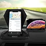 Cell Phone Holder for Car Phone Mount Silicone Dashboard Tablet GPS Holder Car Pad Mat Desk Phone Stand for 5.0-9.7' GPS Mobile Phone iPhone Xs Max XR X 6/6s/8/7 Plus iPad Air Mini Galaxy S10
