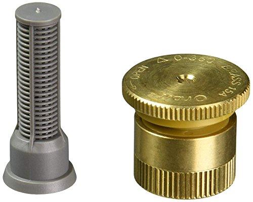 Orbit 10 Pack 15 Feet Spray Adjustable Pattern Brass Pop-Up Sprinkler Nozzle | Lawn Watering Head | Female Threaded