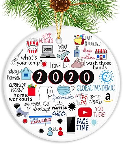 N\P Christmas Ornament 2020
