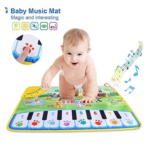 Baby Musical Piano Play Mats Learning Deken Instrument Mat Educatief Speelgoed Voor Kinderen 60X37cm