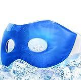 Unimi Gel-Schlafmaske für Damen & Herren, Innovative Kältetherapie-Augenmaske, Kühlende...