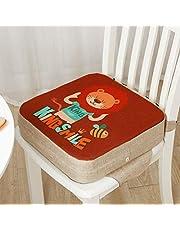 Frotox Cuscino per seggiolino per Bambini Cuscino rialzato per Sala da Pranzo per Bambini Tappetino per Sedia Regolabile Seggiolino per Bambini per Tavolo da Pranzo, 39 x 39 x 10 cm