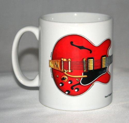 Taza de guitarra. Noel Gallagher Gibson ES-355 de 1960