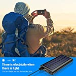 SWEYE Solar Power Bank, 26800mah Portable powerbank【Newest Version】 High Capacity with 2 Outputs for Smart phone,Tablet…
