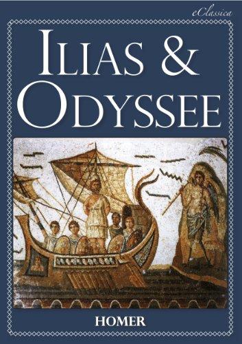 Ilias & Odyssee (Vollständige deutsche Ausgabe, speziell für elektronische Lesegeräte)