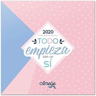 Erik, Calendario de pared 2020 Amelie, 30 x 30 cm