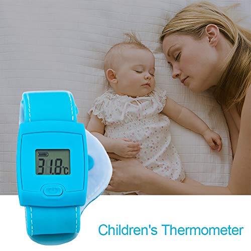 GT-LYD Bluetooth thermometer, intelligente armband, mobiele app real-time bewaking lichaamstemperatuur koortsalarm, ideaal voor baby's binnen en buiten