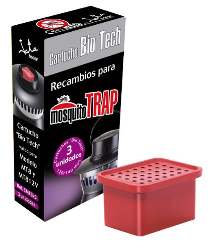 Mostrap cmt8 x 3-Ricambio per intrappola zanzare, modello MT8
