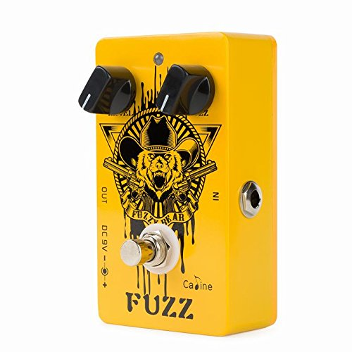 Caline CP-46 Fuzzy Bear Guitar Effects Pedal