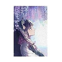 パズル 鬼滅の刃 木製パズル ジグソ500/1000ピース 知育パズル アニメパターン 挑戦的な家族教育活動 子供/大人用 萌えグッズ 減圧 初心者向け ギフト プレゼント 娯楽誕生日プレゼント