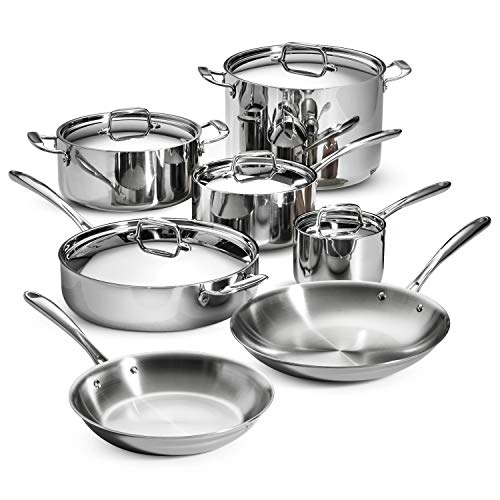 Tramontina 80116/567DS Stainless Steel Tri-Ply...