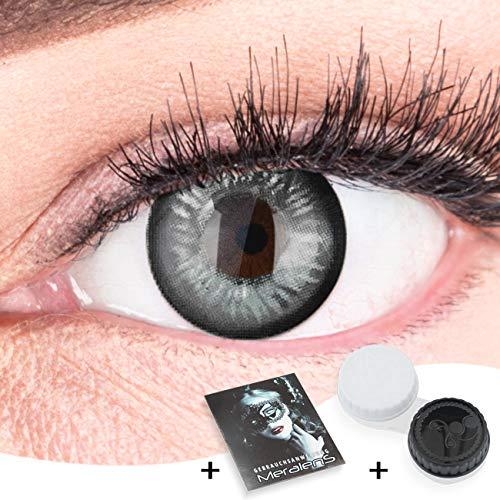 Farbige Schwarze Kontaktlinsen Anime Black Circle Lenses Heroes Of Cosplay Stark Deckend Ohne Stärke mit gratis Linsenbehälter