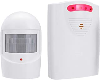 Baosity Wireless Driveway Alarm, 368Ft Motion Detector Alert System for Home Security, 1 PIR Motion Sensors and 1 Receiver