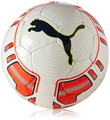 PUMA Kinder Fußball EVO Power Lite, White-Fluro Peach, 5
