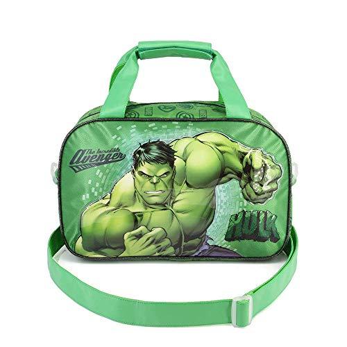 Karactermania Hulk Rage-Street Sporttasche Borsa sportiva per bambini, 38 cm, Verde (Green)