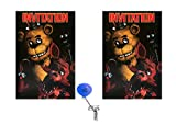Five Nights At Freddys Invitations 16 Guest