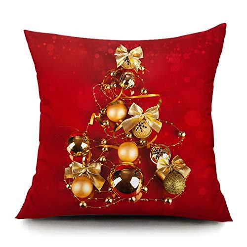 HOSD Cojín de sofá casero Santa Plush Pillow