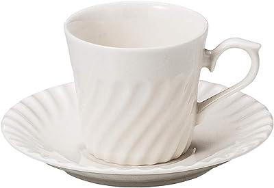 山下工芸 カップ_ソーサー 磁器 7.7×7.2cm(175cc) ネジコーヒー碗と受皿 15053150