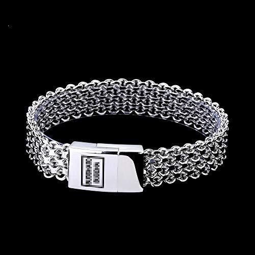 ASIG Mannen Armband Zilver Kleur Boeddha Armband & Bangle Mannelijke Accessoire Gift Hip Hop Party Rock Boeddha Sieraden
