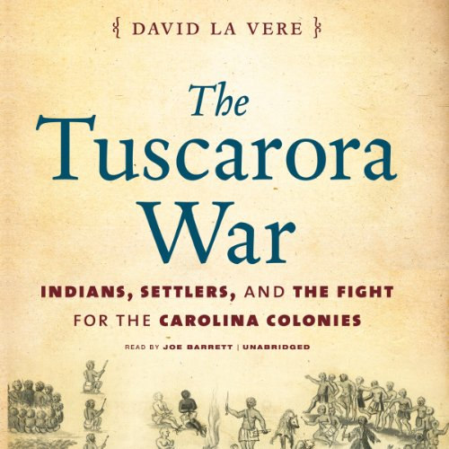 The Tuscarora War audiobook cover art