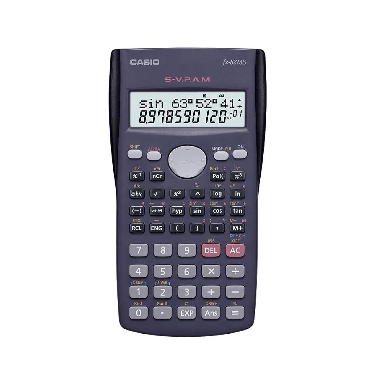 説明的精神必要ないCasio FX-82MS 科学電卓 FX82MS [並行輸入品]
