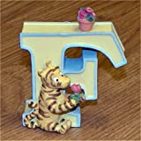 Ceramic Winnie the Pooh Letters by Pepperpot- F