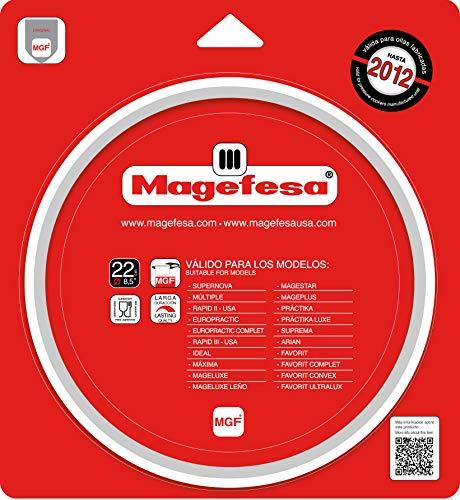 Magefesa Junta de Olla 22cm para modelos MAGEFESA hasta 2012. Repuesto Oficial...