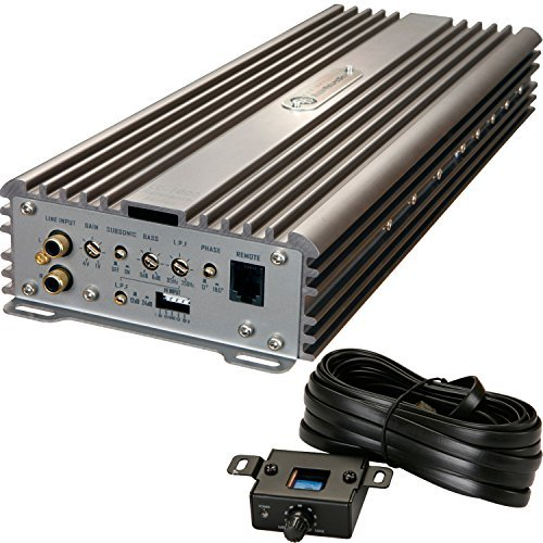 DLS CC-1000 Reference Series Monoblock Class D Car Amplifier 1000W Amp