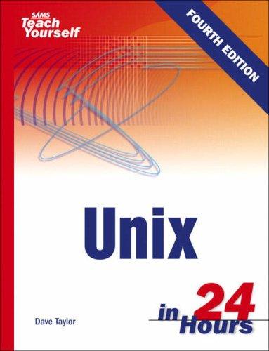 Sams Teach Yourself Unix in 24 Hours PDF Books