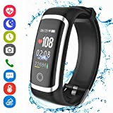 Fitness Tracker HR, Activity Tracker Smart Wristband with Pedometer Heart Rate Blood Pressure