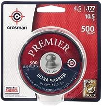 Crosman Premier Domed Field Target 500 pellets in a tin. LUM77