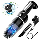 Cordless Handheld Vacuum,YANTU Car Vacuum Cleaner High Power for Quick Car Cleaning,Portable Mini Auto Vacuum Cleaners for Home and Car,DC 12V,4500PA